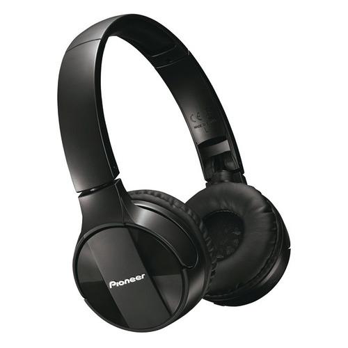 цена Наушники с микрофоном PIONEER SE-MJ553BT-K, Bluetooth, мониторы, черный