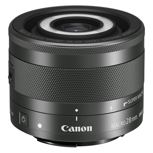 Фото - Объектив CANON 28mm f/3.5 EF-M STM, Canon EF-M, черный [1362c005] объектив canon ef m 28 mm f 3 5 macro is stm