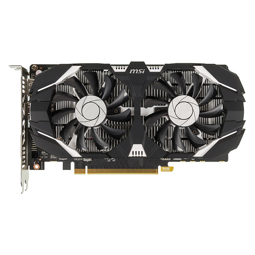 Видеокарта MSI nVidia GeForce GTX 1050TI , GeForce GTX 1050 Ti 4GT OC, 4Гб, GDDR5, OC, Ret видеокарта gigabyte geforce gtx 1050ti gv n105toc 4gd 4гб gddr5 oc ret
