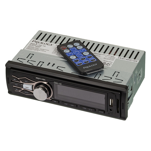 Автомагнитола PROLOGY CMX-140, USB, SD/MMC автомагнитола prology cmx 100 1din