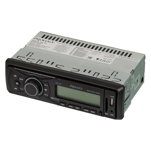 Автомагнитола PROLOGY CMX-200, USB, SD/MMC автомагнитола prology cmx 100 1din