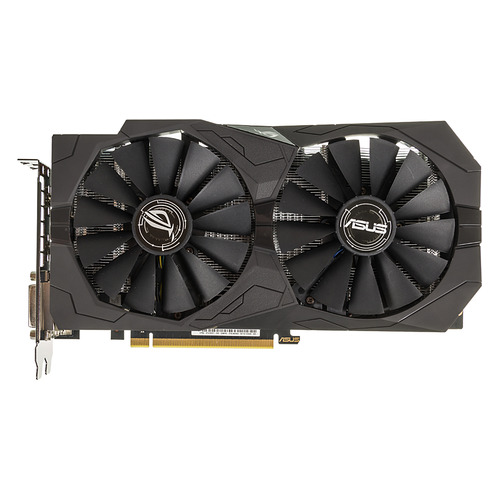 Видеокарта ASUS nVidia GeForce GTX 1050TI , STRIX-GTX1050TI-O4G-GAMING, 4Гб, GDDR5, OC, Ret видеокарта asus geforce gtx 1050ti ex gtx1050ti 4g 4гб gddr5 ret