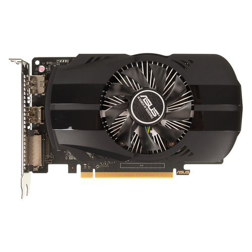 Видеокарта ASUS nVidia GeForce GTX 1050TI , PH-GTX1050TI-4G, 4Гб, GDDR5, Ret видеокарта asus geforce gtx 1050ti ex gtx1050ti 4g 4гб gddr5 ret