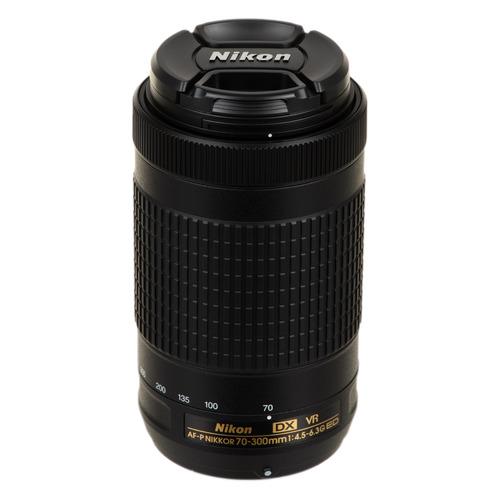 Объектив NIKON 70-300mm f/4.5-6.3 AF-P VR ED, Nikon F [jaa829da] цена 2017