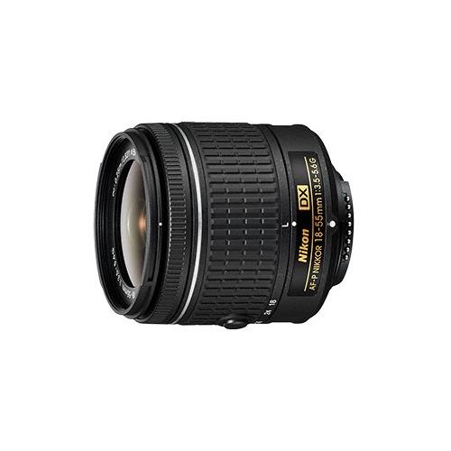Объектив NIKON 18-55mm f/3.5-5.6 AF-P, Nikon F [jaa827da] объектив sony dt 18 55mm f 3 5 5 6 sal 1855