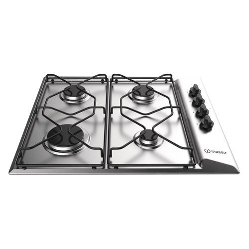 Варочная панель INDESIT PAAI 642 IX/I, независимая, нержавеющая сталь indesit thp 641 w ix i нержавеющая сталь
