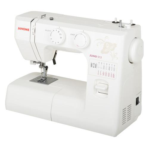 Швейная машина JANOME Juno 513 белый швейная машина janome 513