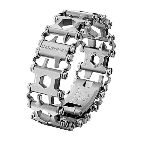 Браслет мультитул Leatherman Tread Metric (832325) серебристый подар.коробка