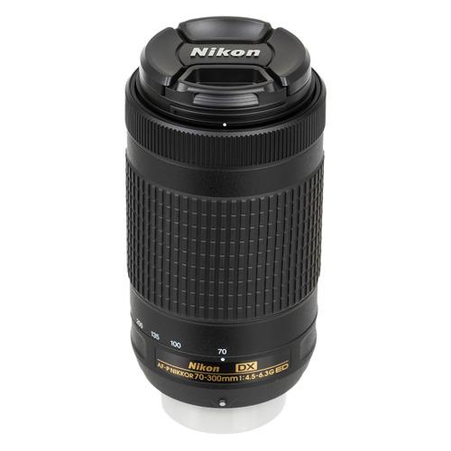 Фото - Объектив NIKON 70-300mm f/4.5-6.3 AF-P DX, Nikon F [jaa828da] объектив yongnuo af 100mm f 2 0 nikon