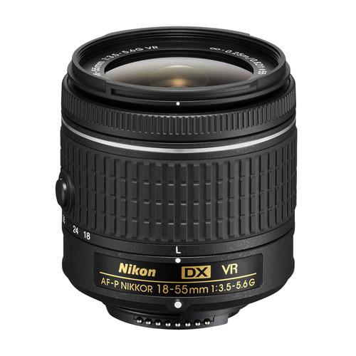 Объектив NIKON 18-55mm f/3.5-5.6 AF-P VR, Nikon F [jaa826da] объектив sony dt 18 55mm f 3 5 5 6 sal 1855
