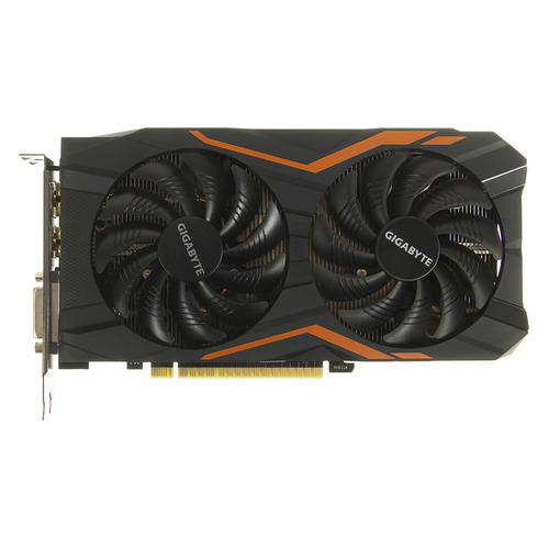 Видеокарта GIGABYTE nVidia GeForce GTX 1050TI , GV-N105TG1 GAMING-4GD, 4Гб, GDDR5, OC, Ret видеокарта gigabyte geforce gtx 1050ti gv n105toc 4gd 4гб gddr5 oc ret