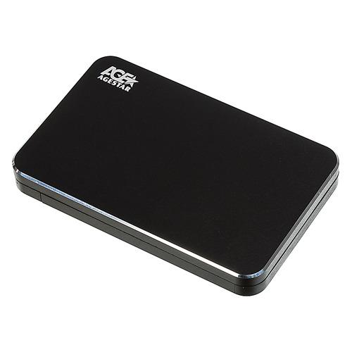 Внешний корпус для HDD AGESTAR 3UB2A18, черный внешний корпус для hdd agestar 3ub2p1 черный