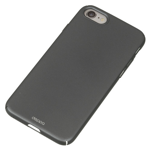 Чехол (клип-кейс) DEPPA Air Case, для Apple iPhone 7/8, графит [83269] цена и фото