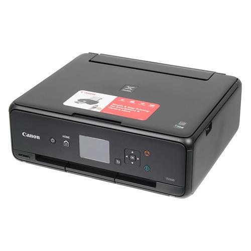 Фото - МФУ струйный CANON Pixma TS5040, A4, цветной, струйный, черный [1367c007] мфу canon pixma mg2540s цветное a4 8ppm 4800x600 usb
