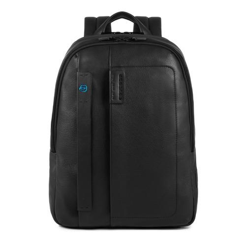 Рюкзак унисекс Piquadro Pulse CA3869P15/N черный натур.кожа рюкзак для ноутбука 15 6 thule lithos backpack tlbp 116 синий