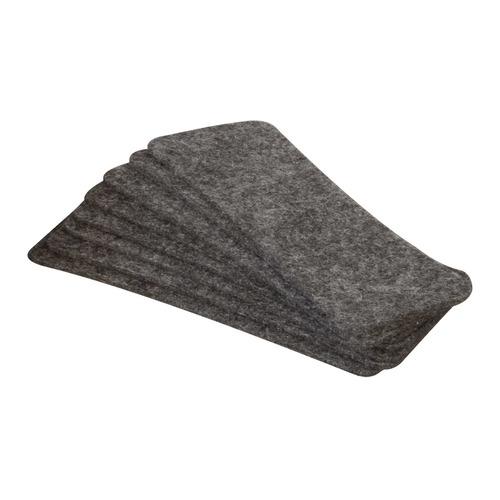 Фото - Салфетки для стирателя магнитного 2X3 AS123 фетр серый (упак.:10шт) шлифлента bosch 610х100мм k80 10шт best for wood 2 608 606 136