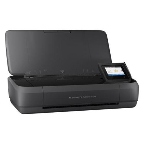 Фото - МФУ струйный HP OfficeJet 252 mobile AiO, A4, цветной, струйный, черный [n4l16c] мфу струйный brother mfc j3930dw a3 цветной струйный черный [mfcj3930dwr1]