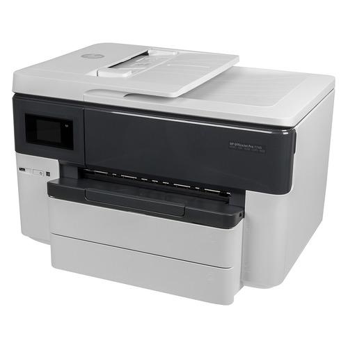 Фото - МФУ струйный HP Officejet Pro 7740 WF AiO, A3, цветной, струйный, белый [g5j38a] мфу струйный hp officejet pro 7720 a3 цветной струйный белый [y0s18a]