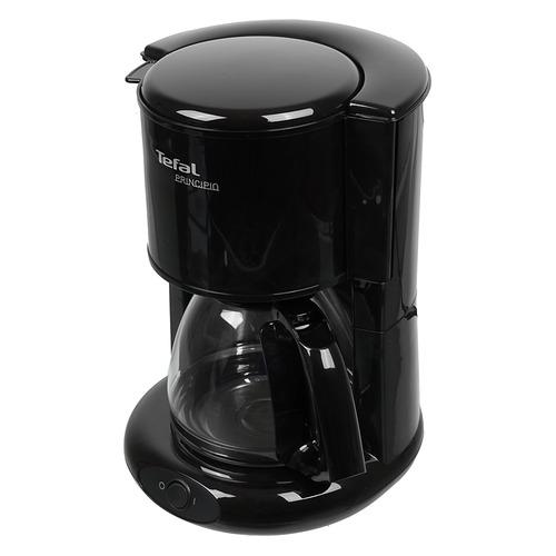 лучшая цена Кофеварка TEFAL CM261838, капельная, черный [7211002511]