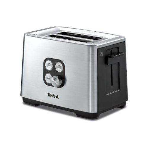 Тостер TEFAL TT420D30, серебристый [8000035884] тостер tefal tt330d30 серебристый черный