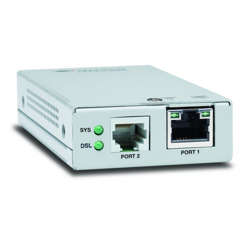 Медиаконвертер Allied Telesis AT-MMC6005-60 VDSL2 (RJ11) to 10/100/1000T Mini блок питания allied telesis at pwr4 50 for at mcr12 media converter rackmount chassis