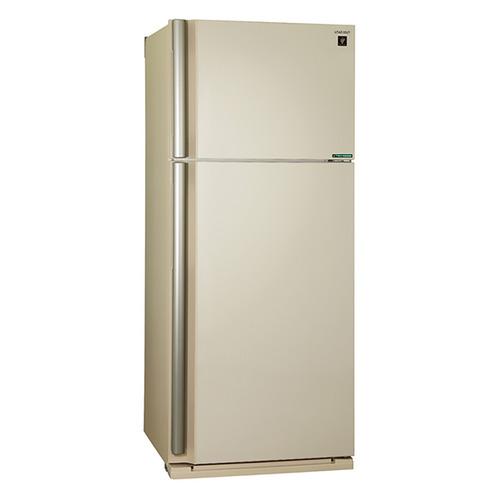 Холодильник SHARP SJ-XE59PMBE, двухкамерный, бежевый все цены