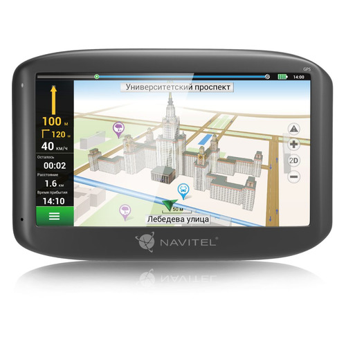 GPS навигатор NAVITEL N500, 5, авто, 4Гб, Navitel, серый junsun 7 inch car gps navigation android bluetooth wifi russia navitel europe map truck vehicle gps navigator sat nav free map