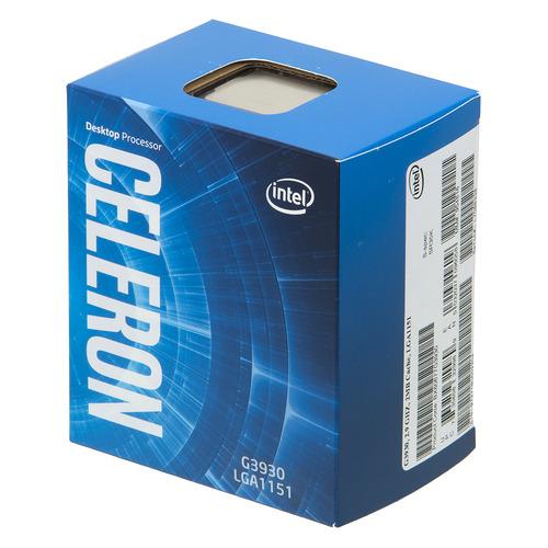 Процессор INTEL Celeron G3930, LGA 1151, BOX [bx80677g3930 s r35k] цена и фото