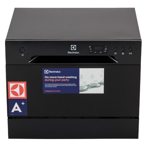Посудомоечная машина ELECTROLUX ESF2400OK, компактная, черный посудомоечная машина hyundai dt205 компактная белая