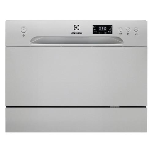 Посудомоечная машина ELECTROLUX ESF2400OS, компактная, серебристая посудомоечная машина hyundai dt205 компактная белая
