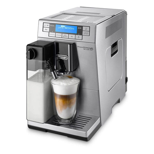 Кофемашина DELONGHI PrimaDonna XS ETAM36.364.M, серебристый цена