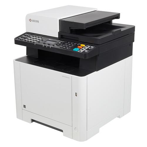 Фото - МФУ лазерный KYOCERA Ecosys M5521cdn, A4, цветной, лазерный, белый [1102ra3nl0] принтер kyocera ecosys p5026cdn цветной a4 26ppm 1200x1200dpi ethernet usb