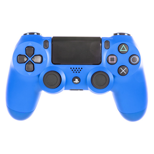 Геймпад Беспроводной SONY Dualshock 4 v2 (CUH-ZCT2E), для PlayStation 4, синий [ps719894155] 1 pair h4 led h7 h11 h1 h3 9005 hb3 9006 hb4 led car light h8 h9 auto bulb headlight 6000k