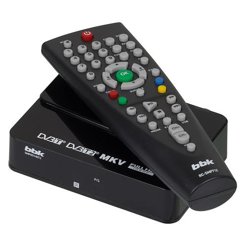 цена на Ресивер DVB-T2 BBK SMP001HDT2, черный [smp001hdt2 (b)]
