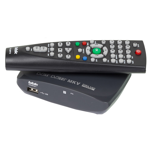 цена на Ресивер DVB-T2 BBK SMP002HDT2, темно-серый