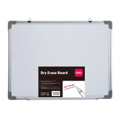 Фото - Доска магнитно-маркерная Deli E39037A лак белый 120x180см алюминиевая рама лак