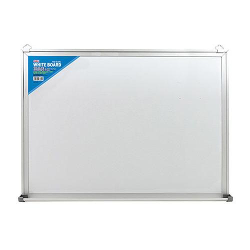 Фото - Доска магнитно-маркерная Deli E7818 лак белый 90x150см алюминиевая рама сталь доска комбинированная hebel maul combiboard standard 6447484 пробка лак 45x60см алюминиевая рама про