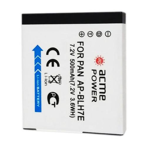 Аккумулятор ACMEPOWER AP-BLH7, Li-Ion, 7.2В, 500мAч, для компактных камер Panasonic DMC-GM1 цена и фото