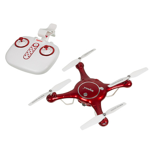 Квадрокоптер SYMA X5UW с камерой, красный original syma x5uw x5uc rc drone with wifi camera hd real time transmission fpv quadcopter 2 4g 4ch helicopter dron quadrocopter
