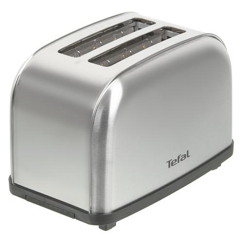 Тостер TEFAL TT330D30, серебристый/черный [8000035883] тостер tefal tt330d30 серебристый черный
