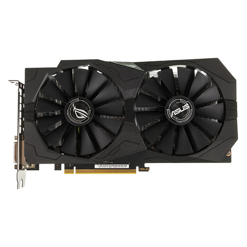 Видеокарта ASUS nVidia GeForce GTX 1050TI , STRIX-GTX1050TI-4G-GAMING, 4Гб, GDDR5, Ret видеокарта asus geforce gtx 1050ti ex gtx1050ti 4g 4гб gddr5 ret