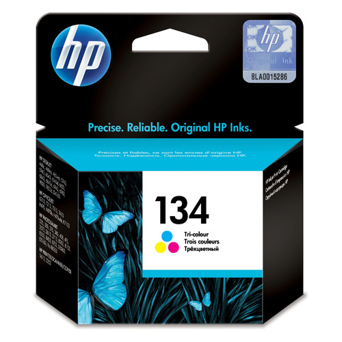 Картридж HP 134, многоцветный [c9363he] цена