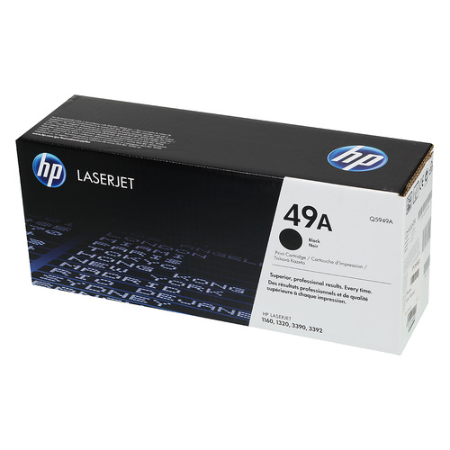 Картридж HP 49A, черный [q5949a] q5949a 5949a 49a 5949 compatible toner cartridge for hp 1160 1320 m3390mfp m3392mfp