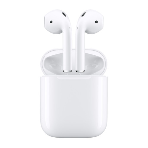 Гарнитура APPLE AirPods, вкладыши, белый, беспроводные bluetooth picun p3 hifi headphones bluetooth v4 1 wireless sports earphones stereo with mic for apple ipod asus ipads nano airpods itouch4