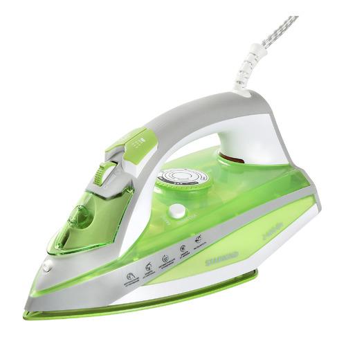 цена на Утюг STARWIND SIR8925, 2400Вт, зеленый/ серый
