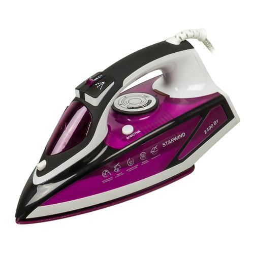 цена на Утюг STARWIND SIR7927, 2400Вт, фиолетовый/ черный