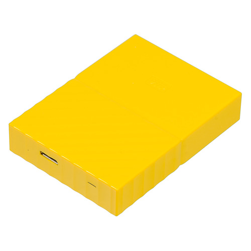 Внешний жесткий диск WD My Passport WDBUAX0040BYL-EEUE, 4Тб, желтый 2 5 2000gb wd my passport wdbuax0020bbl eeue usb3 0 синий