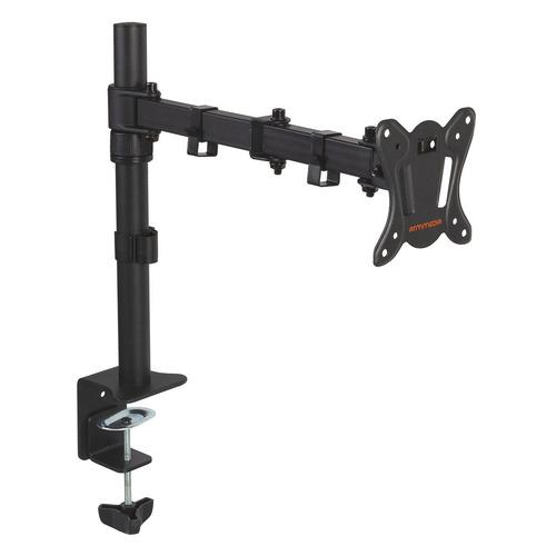 Фото - Кронштейн для мониторов Arm Media LCD-T12 черный 15-32 макс.12кг настольный поворот и наклон верт. кронштейн для мониторов arm media lcd t12 black