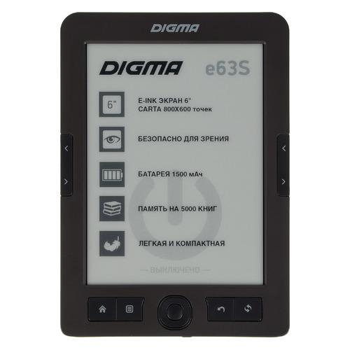 Электронная книга DIGMA E63S, 6