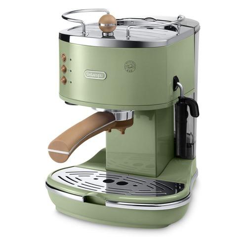 Кофеварка DELONGHI ECOV311.GR, эспрессо, зеленый [0132106086]